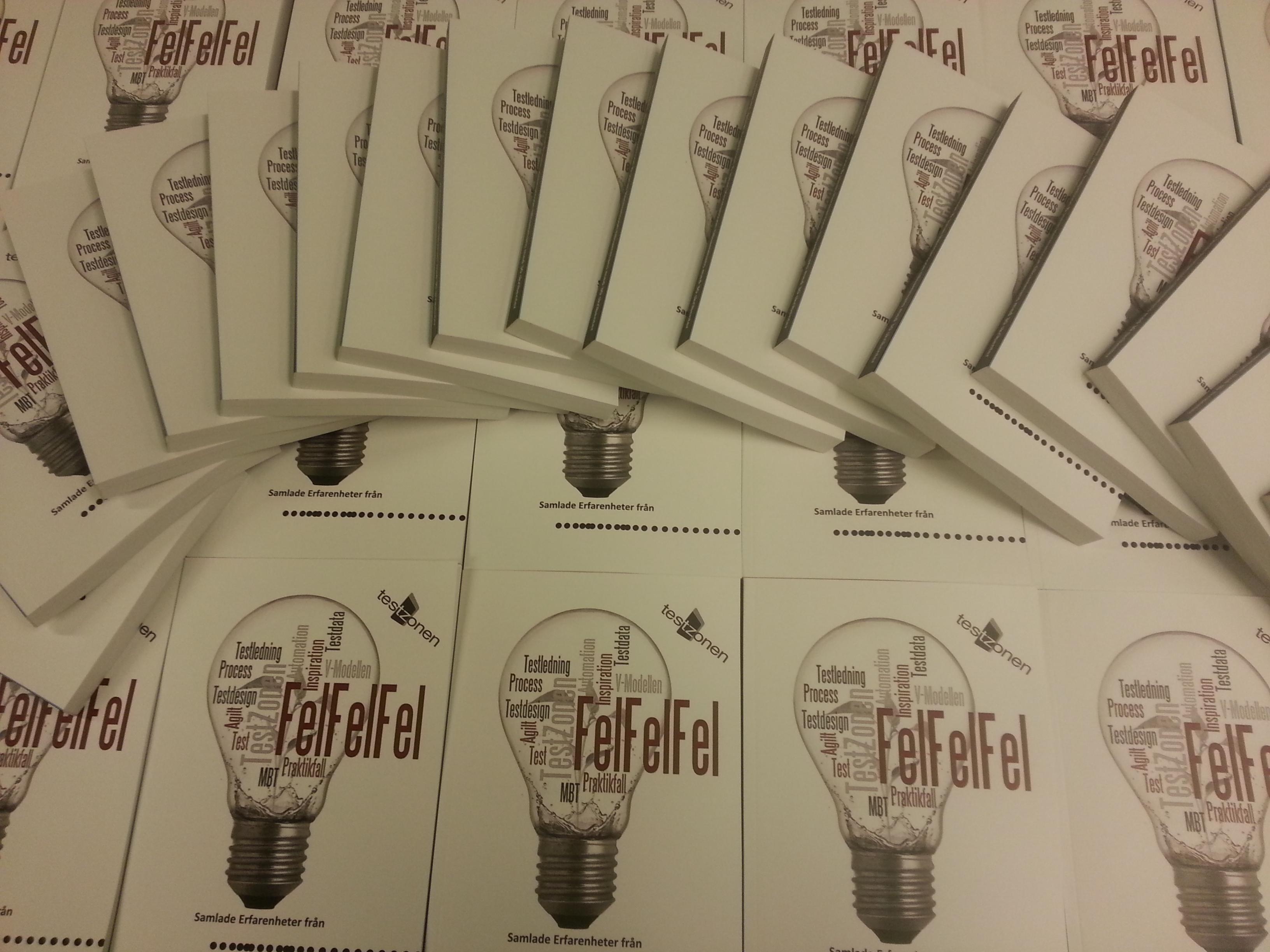 TestZonens bok - Fel Fel Fel är nu äntligen släppt.