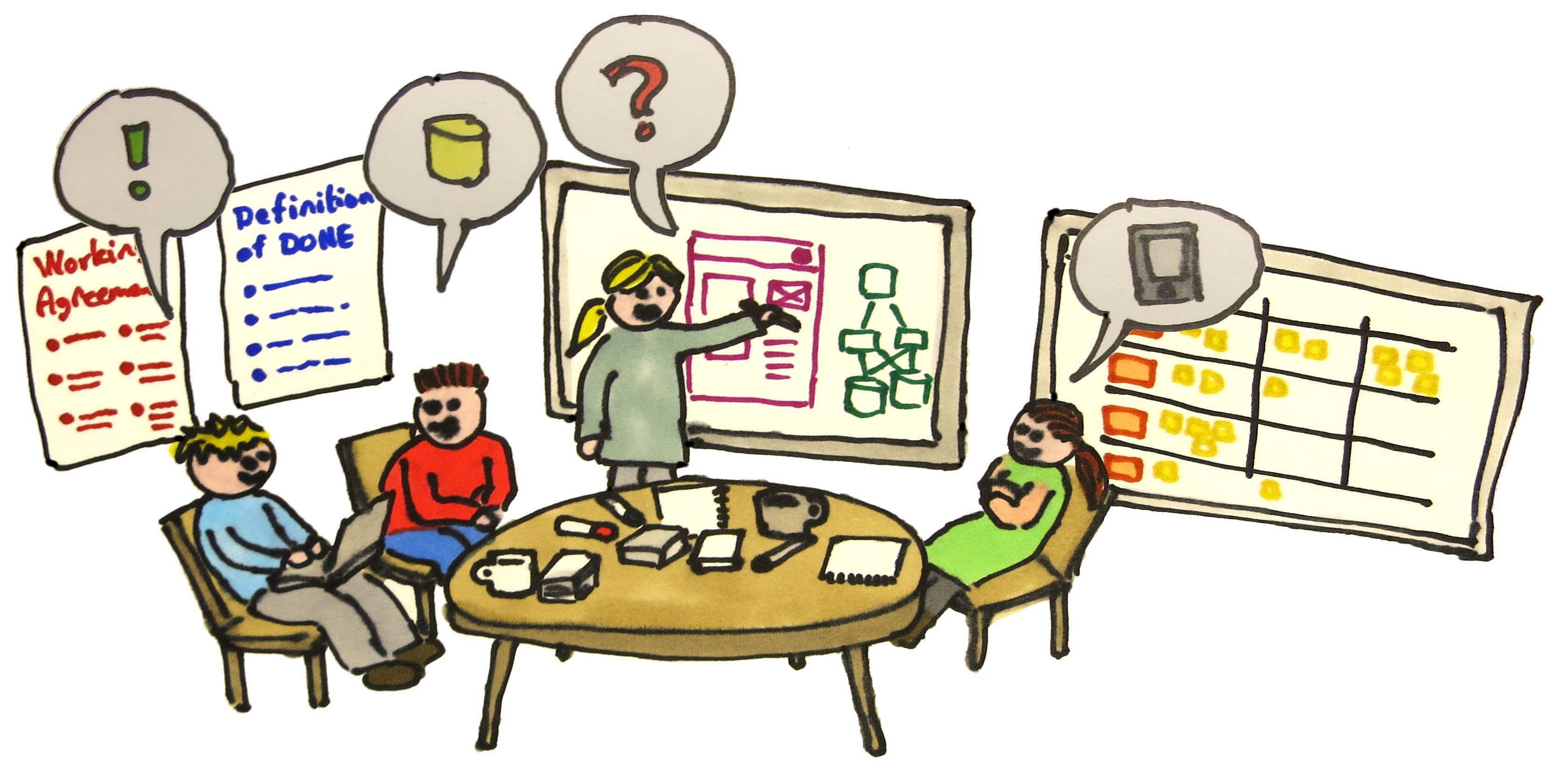 En exempel från verkligheten i tre akter om hur teamet tillsammans tar ansvar för kvaliteten av sin produkt.
