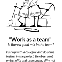 Work as a team